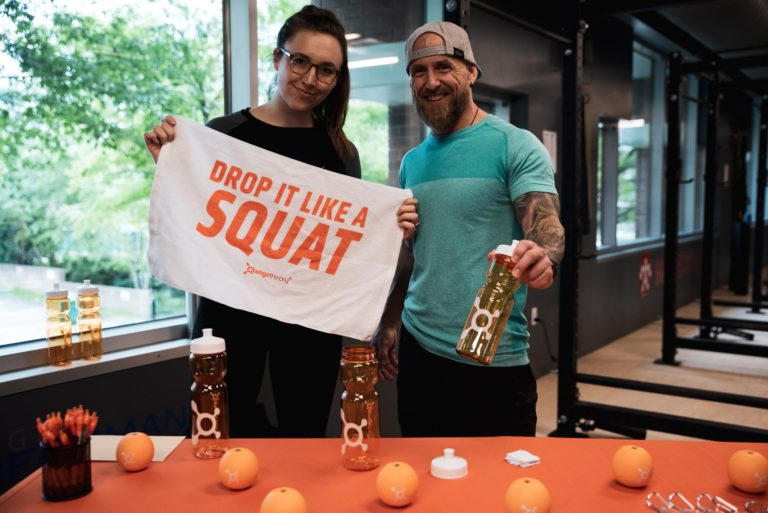 orange theory booth