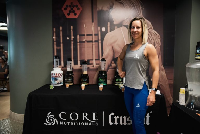 core nutritionals booth and samantha mabe