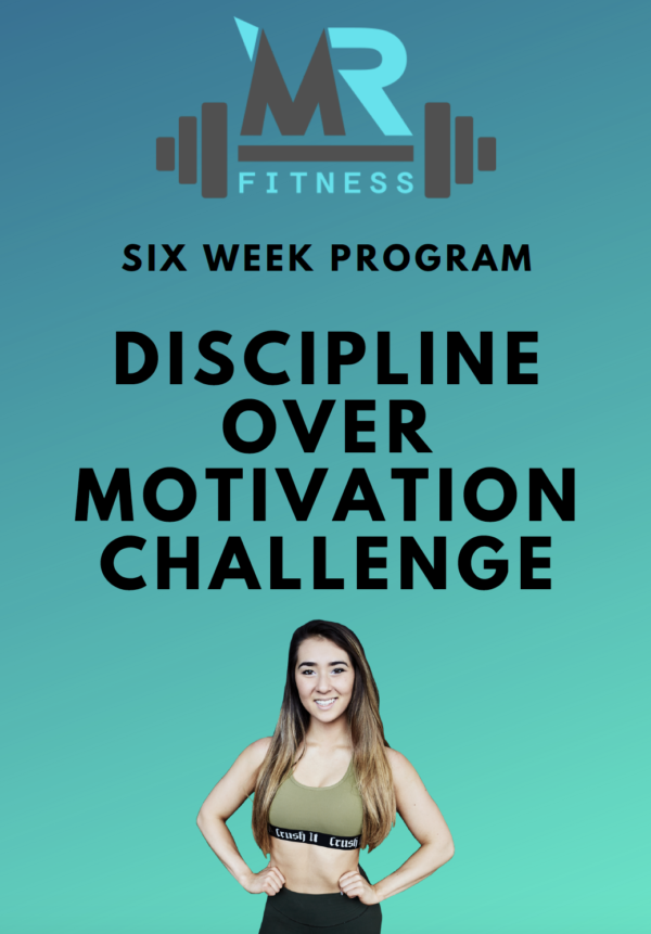 discipline over motivation cover page